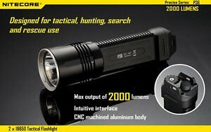NITECORE-P36-MT-G2-2000LM-Dual-Switch-Tactical-LED-Flashlight