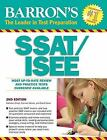 Barron's SSAT/ISEE by Carmen Geraci, David Ebner, Kathleen Elliot and Kathleen Elliott (2009, Paperback, Revised)