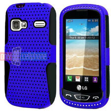 LG Rumor Reflex Xpression Converse LN272 C395 AN272 Blue/Black Hybrid Case Cover