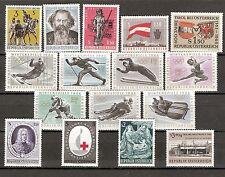 Österreich 1963 Kompletter Jahrgang Postfrisch ** MNH
