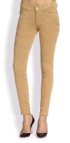 cuir Pour Nwt 23 les 7 hommes jeans Tan tous pour Sz 198 Usa en Les femmes skinny sués Stretch xAppTw