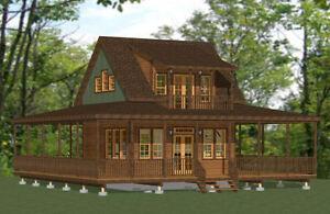 20x20 Home -- Pdf Floor Plan -- 706 Ft² (environ 65.59 M²) -- Modèle 5 A-afficher Le Titre D'origine MatéRiaux De Haute Qualité