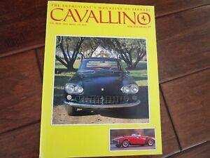 VINTAGE-CAVALLINO-FERRARI-MAGAZINE-NUMBER-57-June-1990