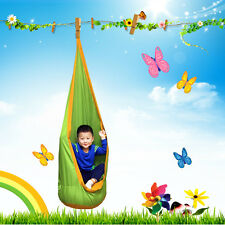 Outdoor Kid Baby Pod Swing Chair Reading Nook Tent Hanging Seat Hammock 3 Color  sc 1 st  eBay & Outdoor Kid Baby Pod Swing Chair Reading Nook Tent Hanging Seat ...