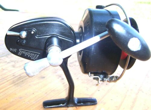 moulinet Mitchell noir (306 Taille ) spinning reel Fishing Reel 1950 /1970