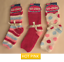 Soft /& Cosy Ladies Lounge Warm Feather Fluffy Bed Socks 3 Pairs UK 4-8