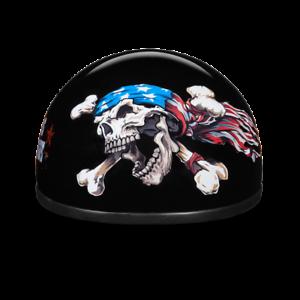 Daytona Skull Cap w Patriot