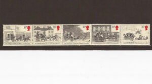 GB 1984 Mail Coach Bicentenary SG 12581262 Set of 5 Mint setenant MNH - <span itemprop=availableAtOrFrom>Yateley, United Kingdom</span> - GB 1984 Mail Coach Bicentenary SG 12581262 Set of 5 Mint setenant MNH - Yateley, United Kingdom