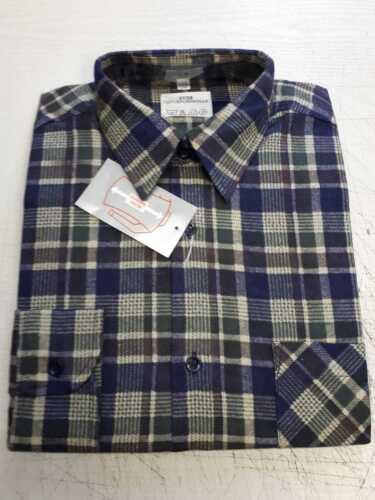 37//38 Franela camisa de trabajo caballeros invierno camisa talla S