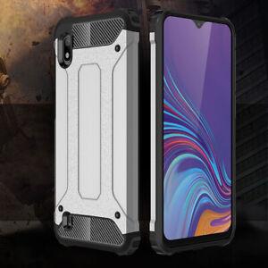 Pour-Samsung-A10-A50-M20-Etui-Silicone-Protecteur-Antichoc-Hybride-Armure-Housse