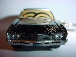 NEW-3D-BLACK-SUPERNATURAL-1967-CHEVROLET-IMPALA-CUSTOM-KEYCHAIN-keyring-key-DIRT