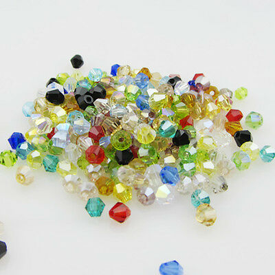 Free ship 1000pcs jewelry crystal 5301 3mm bicone Beads G30