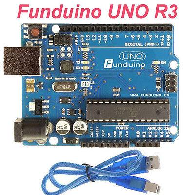 UNO R3 2012 Development Board Arduino Compat MEGA328P ATMEGA16U2 Funduino UNO R3