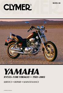 clymer repair service shop manual vintage yamaha xv 535 700 750 920 rh ebay com 91 Yamaha Virago 750 Battery 82 Yamaha Virago 750 Specs