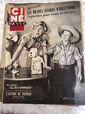 Ciné Revue 43 du 24 octobre 1952 - Doris Day - Roberto Benzi