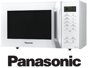 Details about Panasonic 25L Solo Microwave Oven White NN-ST34HW 800W 9  PRESET AUTO MENU