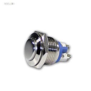 LED Beleuchtung Metall Klingeltaster Ringbeleuchtung Taster Vollmetall 230V//3A