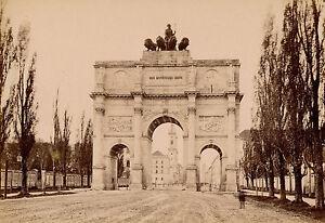 Munich C. 1880 - Porte De La Victoire Allemagne - 18