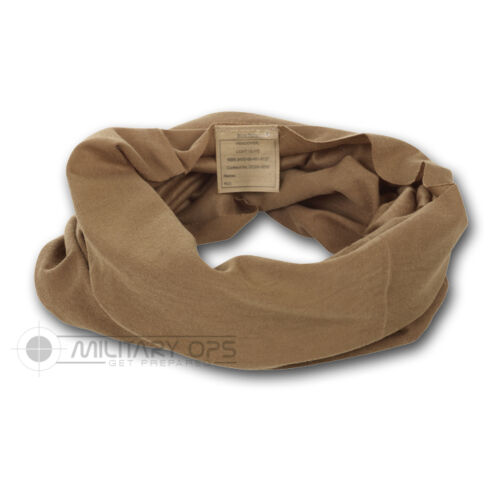 BRITISH ARMY HEADOVER SNOOD LIGHT OLIVE MTP MULTICAM  VAIL NECK SCARF WRAP