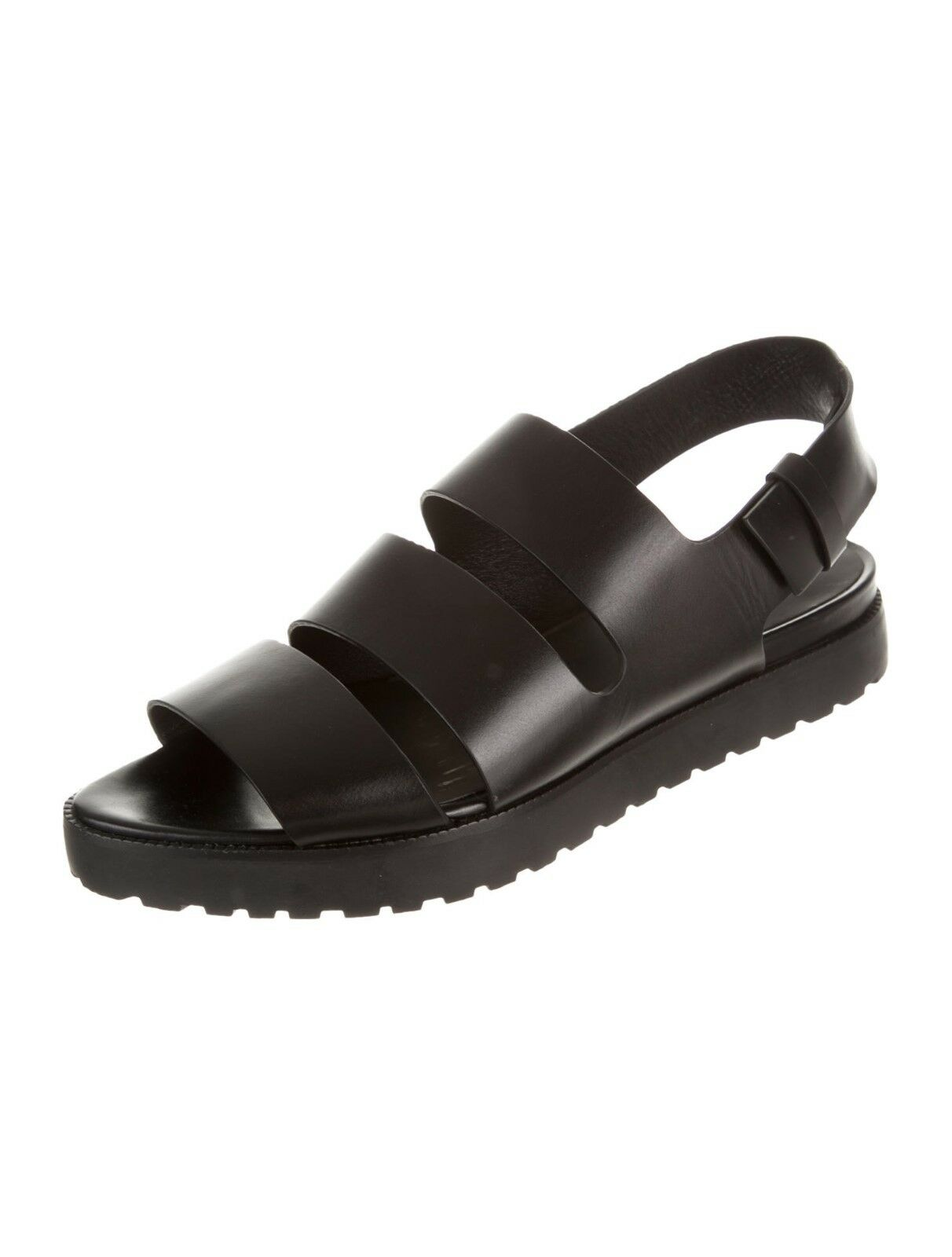 CRAZY COOL NWB SOLD OUT  AISHA  BLACK LEATHER SANDALS BY ALEXANDER WANG