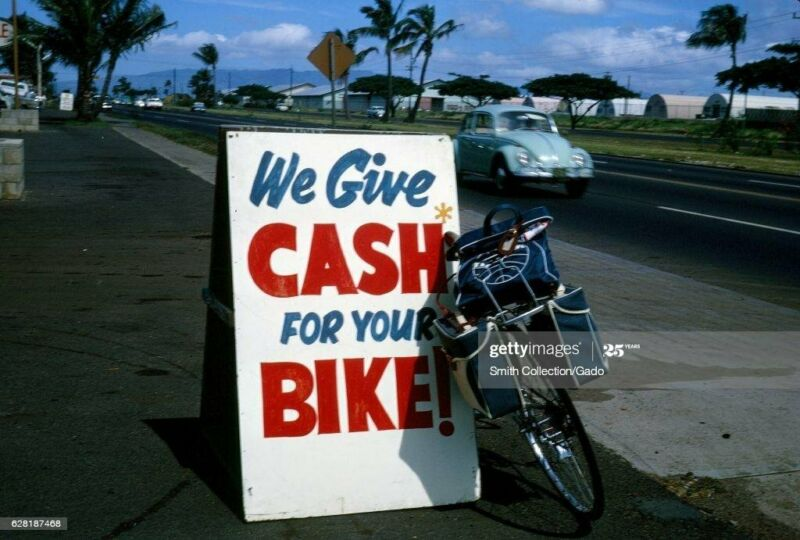CASH FOR YOUR MOUNTAINBIKE