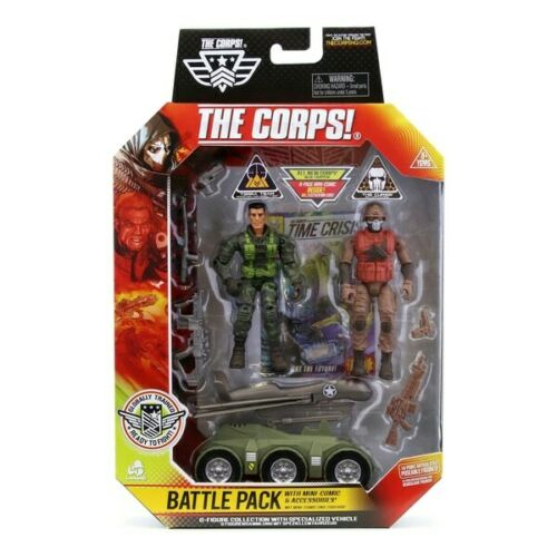 The Corps Battle 2 Figure Pack Terra Team vs The Curse The Corps! Brand New