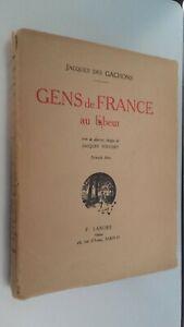 Jacques Delle Rovina Persone Di Francia Au Toil Ornato Foto F.Longo Parigi 1934