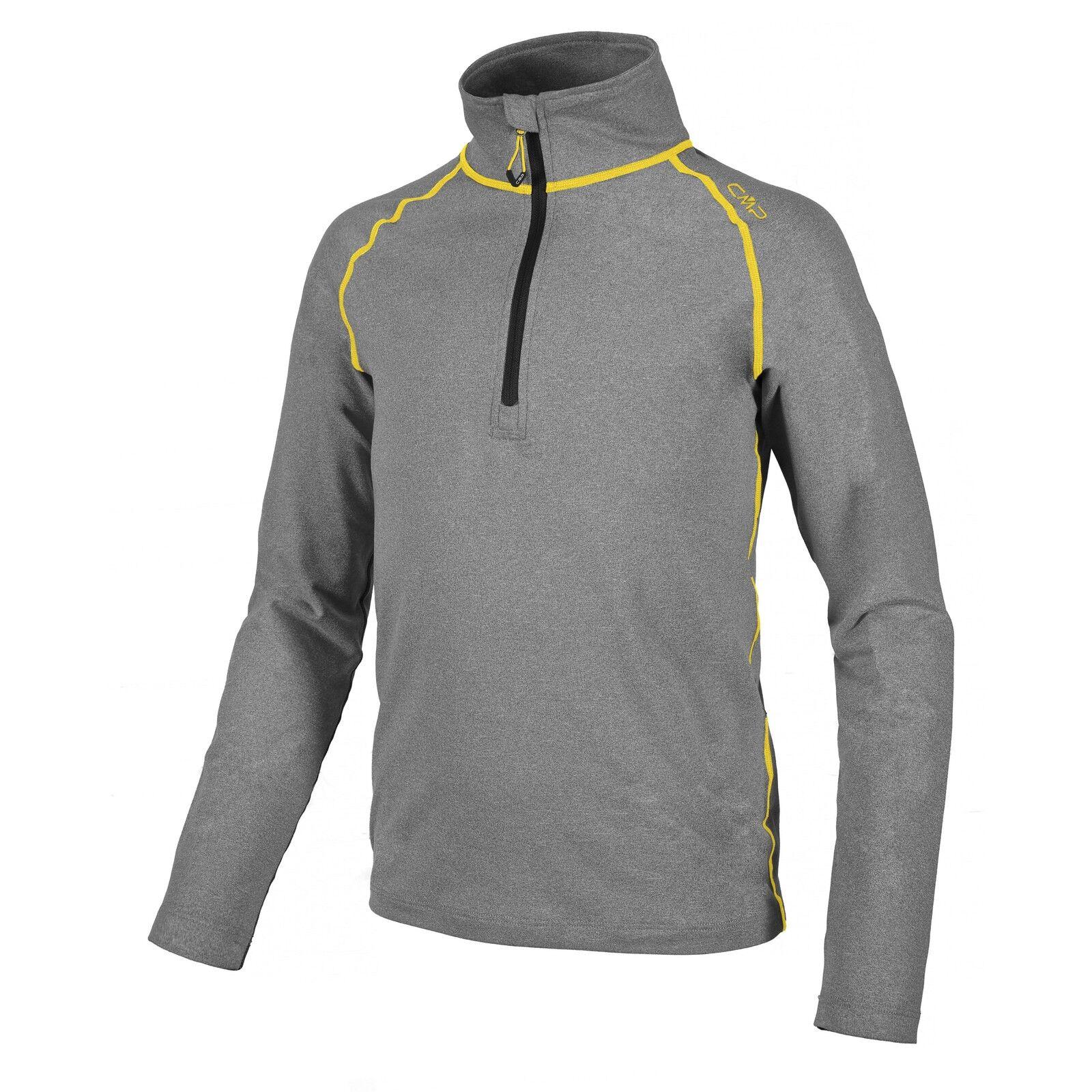 CMP Sweatshirt Function Top Grey  Collar Stretch SOFTECH LIGHT  2018 latest