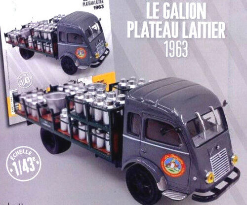Galion Renault Plateau Laitier 1963 1//43  New in box car truck