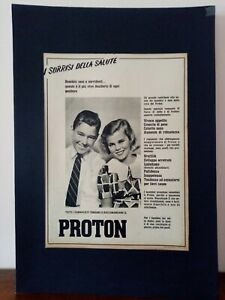 Pubblicita-originale-Proton-anni-039-50-rifilatura-da-rivista-in-passepartout