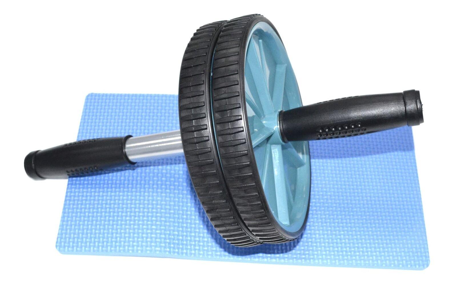 ABS Rouleau Roue & Genou Tapis de protection, Soft confortable Soft protection, Grip Poignées Pour Gym ef0503