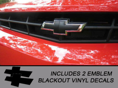 2014//2015 Camaro 14CC/_BBO Emblem Blackout Vinyl