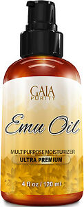 Emu-Oil-100-Pure-Large-4oz-Best-Natural-Oil-For-Face-Skin-Hair