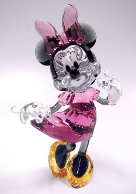 MINNIE MOUSE DISNEY ICONIC CHARACTER PINK 2017 SWAROVSKI CRYSTAL  5135891