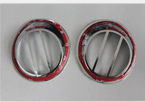 ABS Chrome Rear Tail Fog Light Lamp Cover For Nissan Qashqai 2007-2013 New