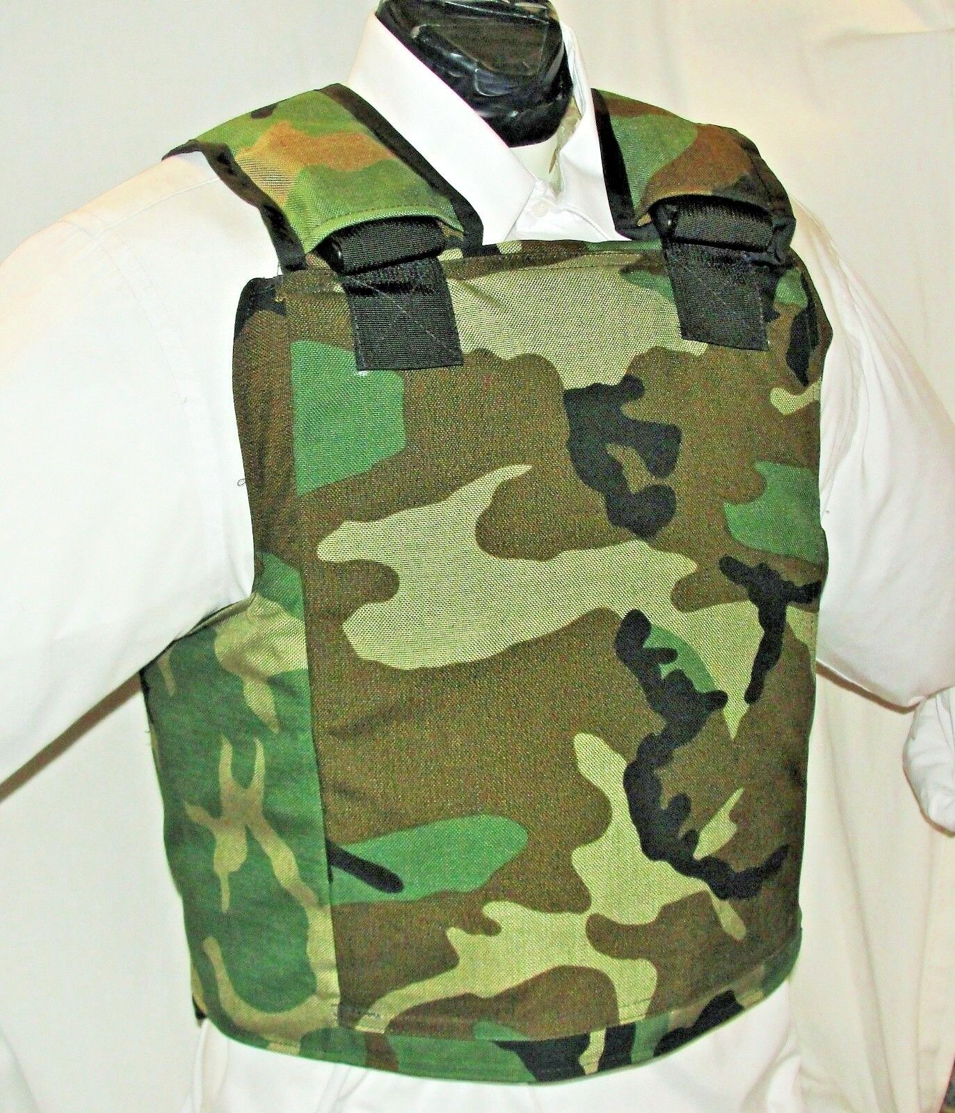 New Large IIIA   Plate Carrier Body Armor BulletProof Vest with Inserts  timeless classic