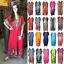 miniature 1 - Women Kaftan Casual Maxi Dress Kimono Sleeve Evening Gown Beachwear Sundress