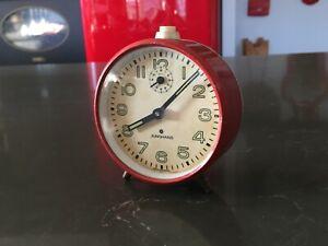 Vintage-Mechanical-Junghans-Alarm-Clock