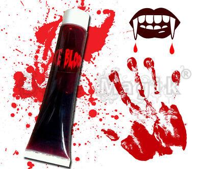 Aufrichtig Vampir Zombie Dracula Gore Künstliches Blut Rohr 28.3 Gm Bühnen Make Up