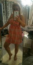 ladies orange dress