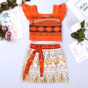 73272de1a GIRLS CARTOON PRINCESS DRESS COSPLAY COSTUME KIDS HALLOWEEN PARTY ...