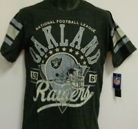 Oakland Raiders Nfl Short Sleeve T-shirt Size Xl Free Ship