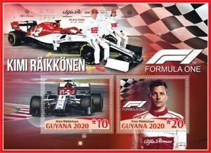 Stamps Cars Formula 1 Juan Kimi Räikkönen
