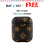 thumbnail 9 - Luxury New Leather AirPods Case Cover Protective Designs For AirPods Pro and 1/2