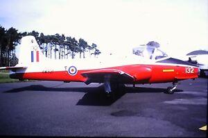 4-395-BAC-Jet-Provost-T-5A-Royal-Air-Force-XW331-Kodachrome-SLIDE