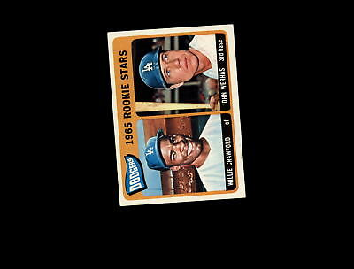 Conscientious 1965 Topps 453 Rookie Stars Willie Crawford Rc/john Werhas Ex #d805689 Sports Trading Cards