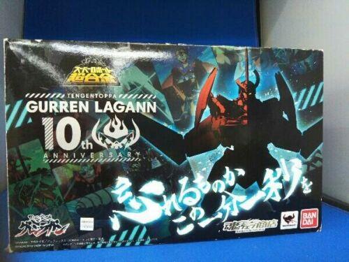 Super Robot Chogokin Gurren Lagann 10th Anniversary Figure Limited Ed Bandai