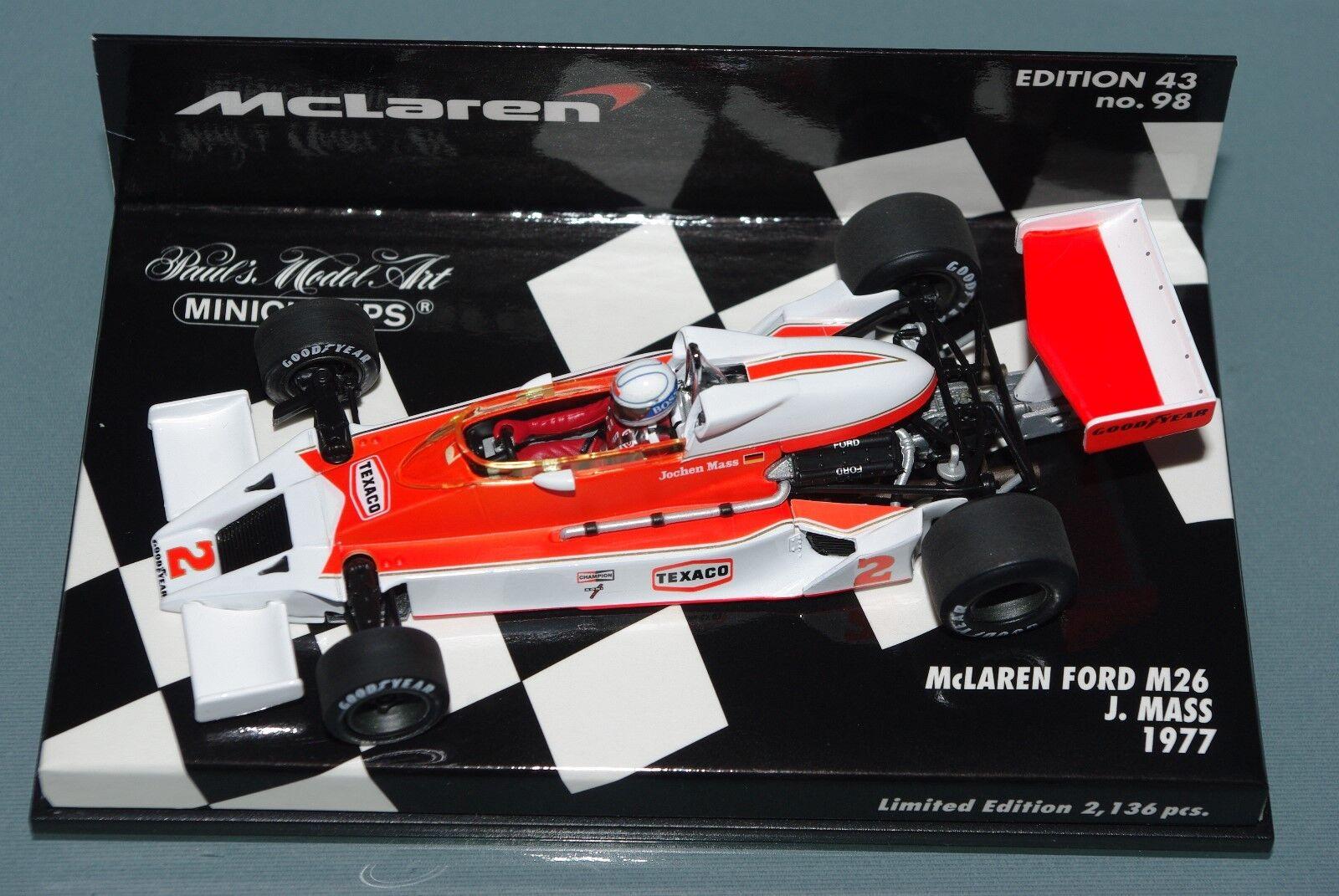 Minichamps F1 1 43 McLaren Ford M26 Jochen Mass 1977
