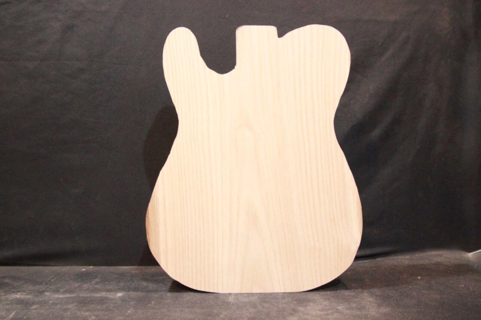 Chestnut 1-piece guitar body blank   Cut to