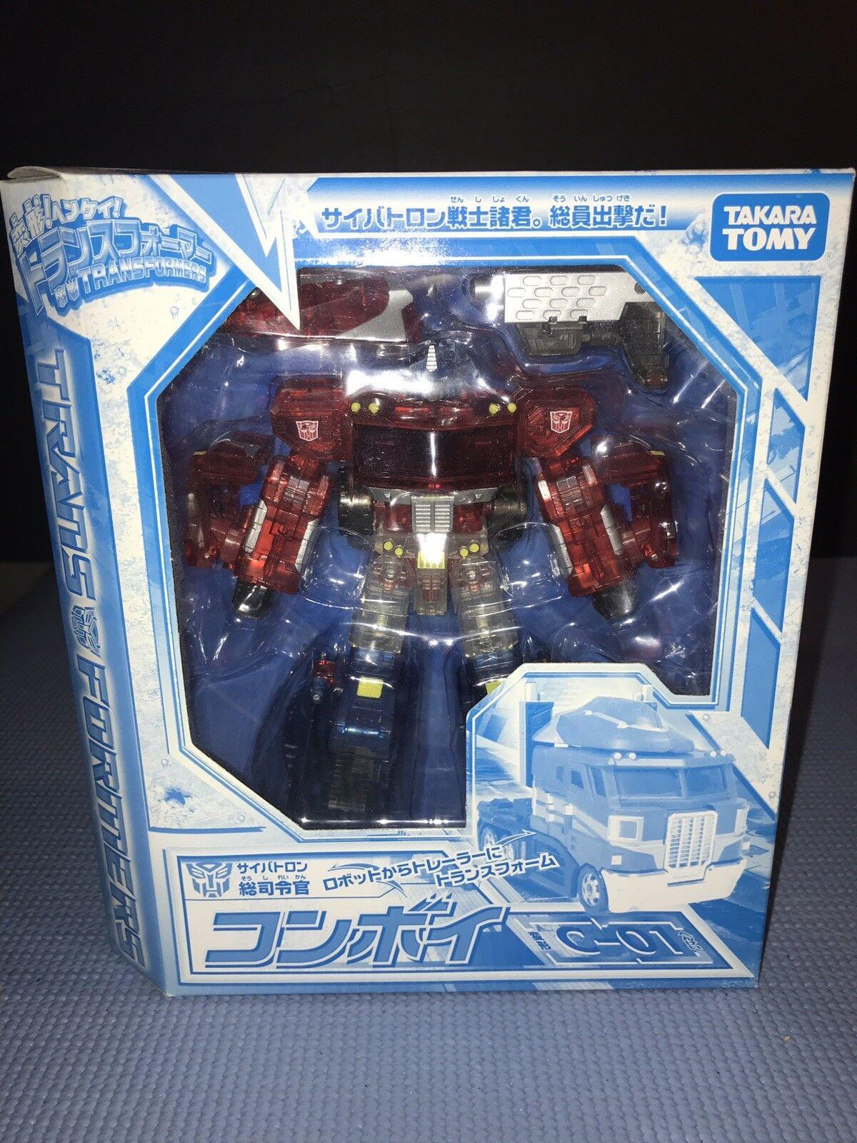 primera reputación de los clientes primero Takara Transformers Henkei convoy clara de Cristal versión C-01 C-01 C-01 G1 Perfecto No Abierto  alta calidad